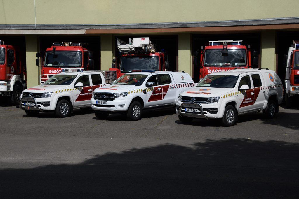 Erdőtüzek oltására alkalmas gépjárműveket kapott a megyei Katasztrófavédelem